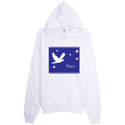 Hoodie With Dove Peace Design