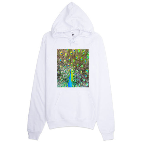 Hoodie With Original Peacock Design