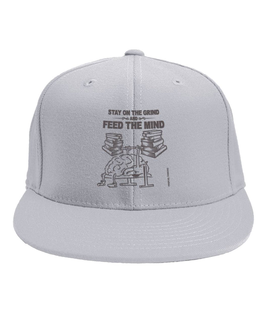 Feed The Mind Cap 6-Panel Classic Snapback