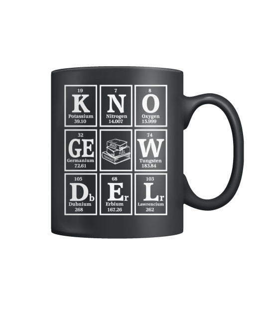Elements of Knowledge Mug