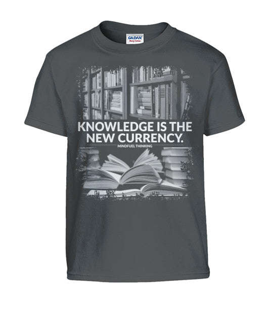 Kid's Knowledge Is The New Currency Tee