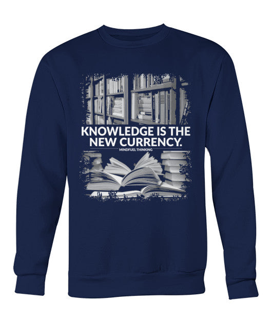 Knowledge Currency Men's Crew Neck Sweatshirt