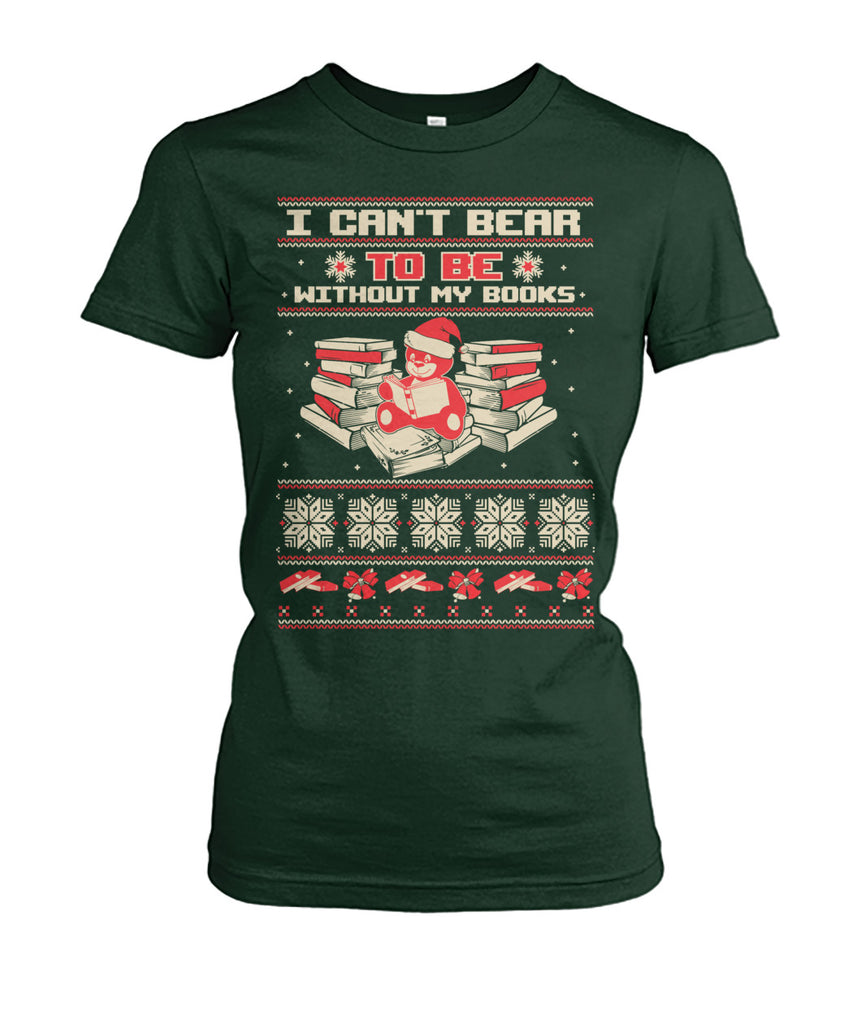 I can't bear to be without my books t-shirt