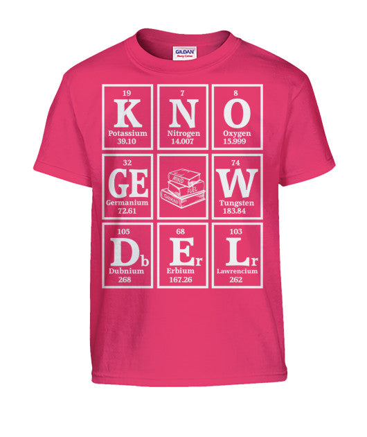 Kid's Elements of Knowledge Tee