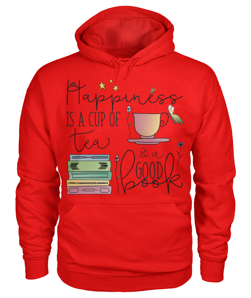 Tea & Books Happiness in a Hoodie