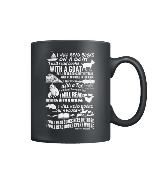 I Will Read Everywhere Mug