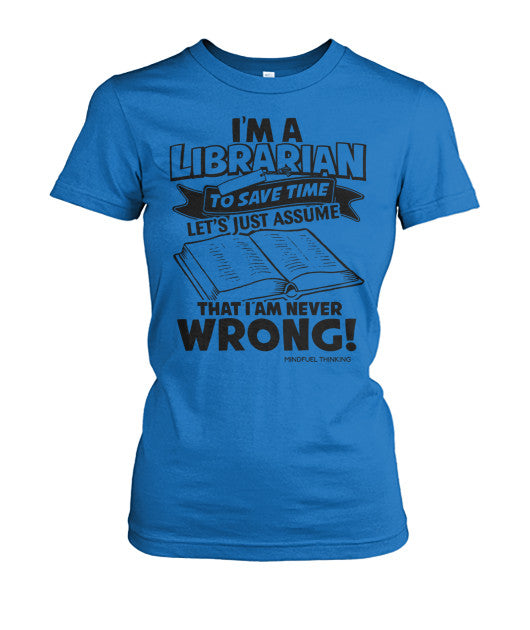 I'm A Librarian Tee