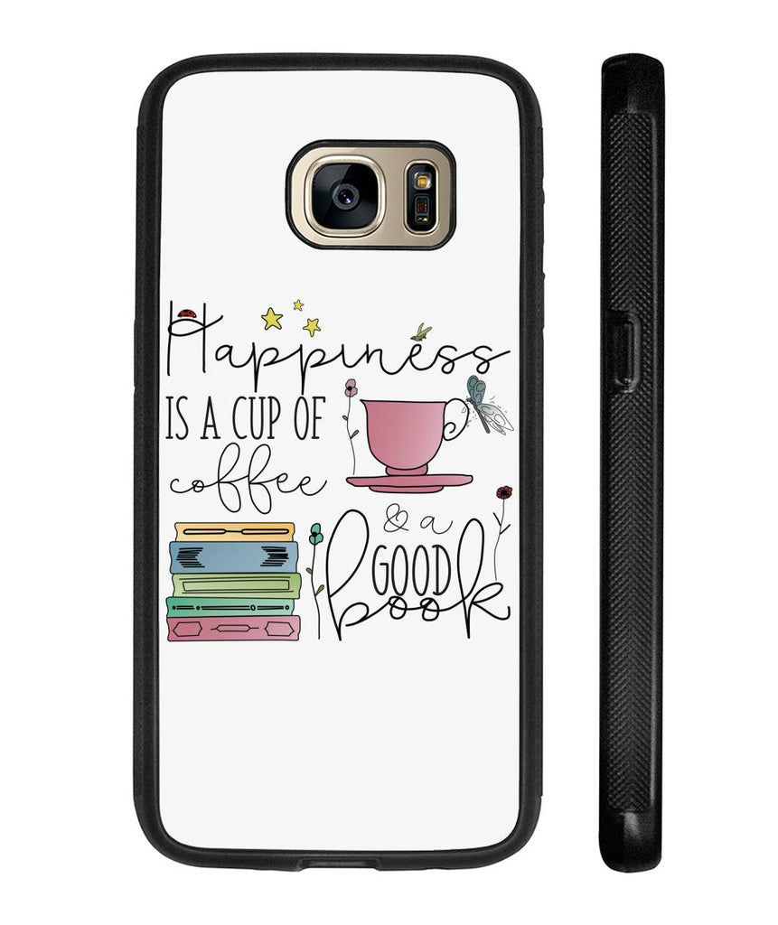 Coffee & Books Happiness in a Cup Phone Case