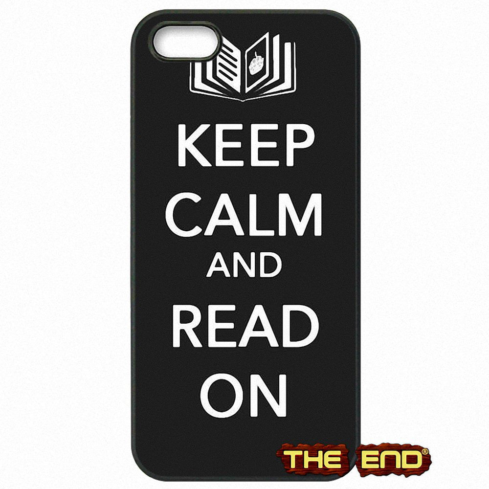 Keep calm and Read On Phone Case
