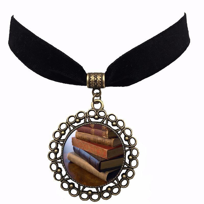 Bookcase Galore Choker