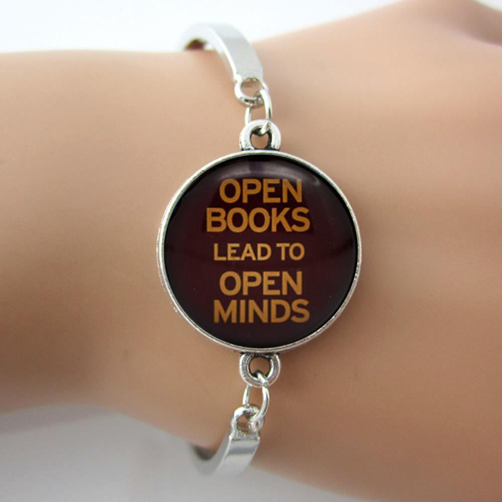 Open Books, Open Minds Bracelet