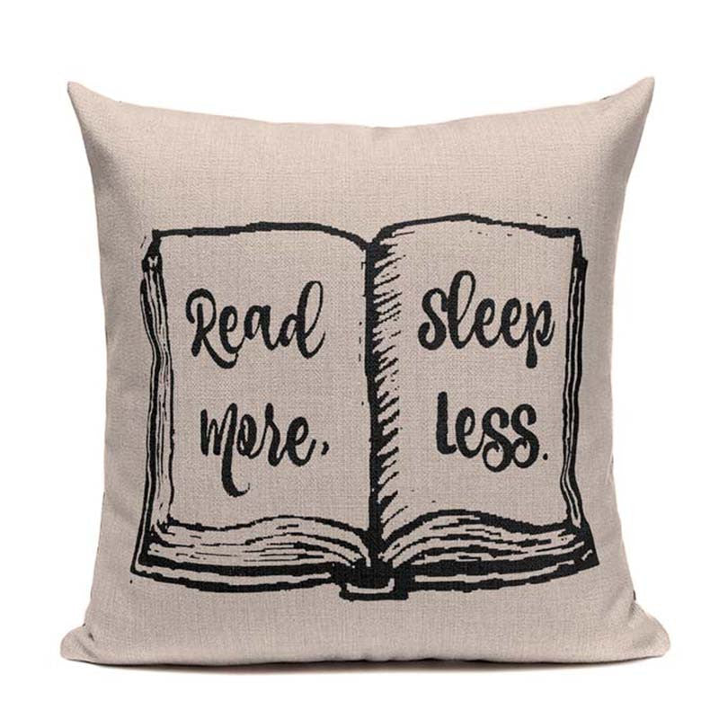Wonderful Handcrafted Reading Pillow Covers