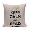 Handcrafted Book Lover's Pillow Covers