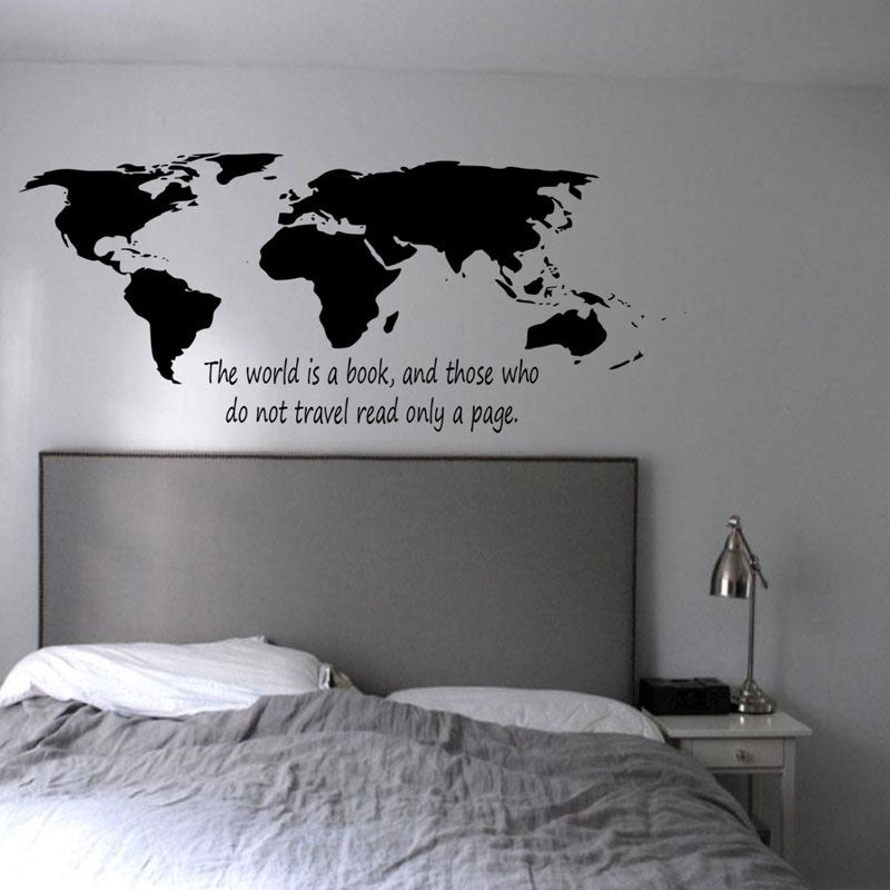The World Is Yours Wall Decal