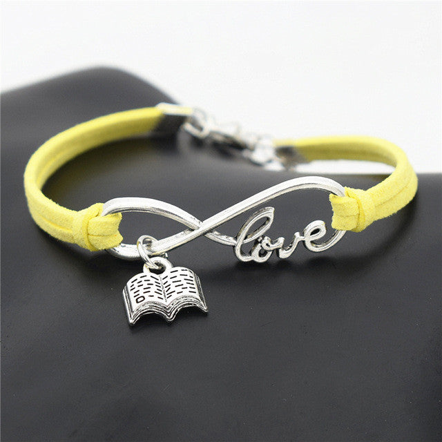 Forever Love Books Bracelet