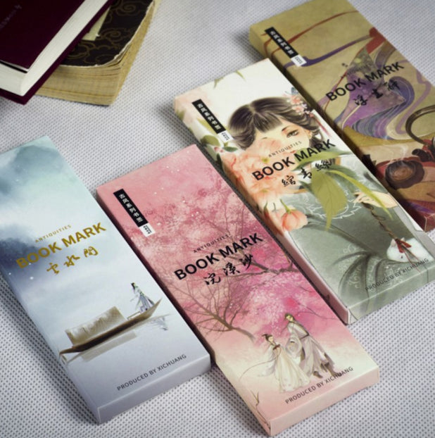 20Pcs/set Chinese Style Bookmarks