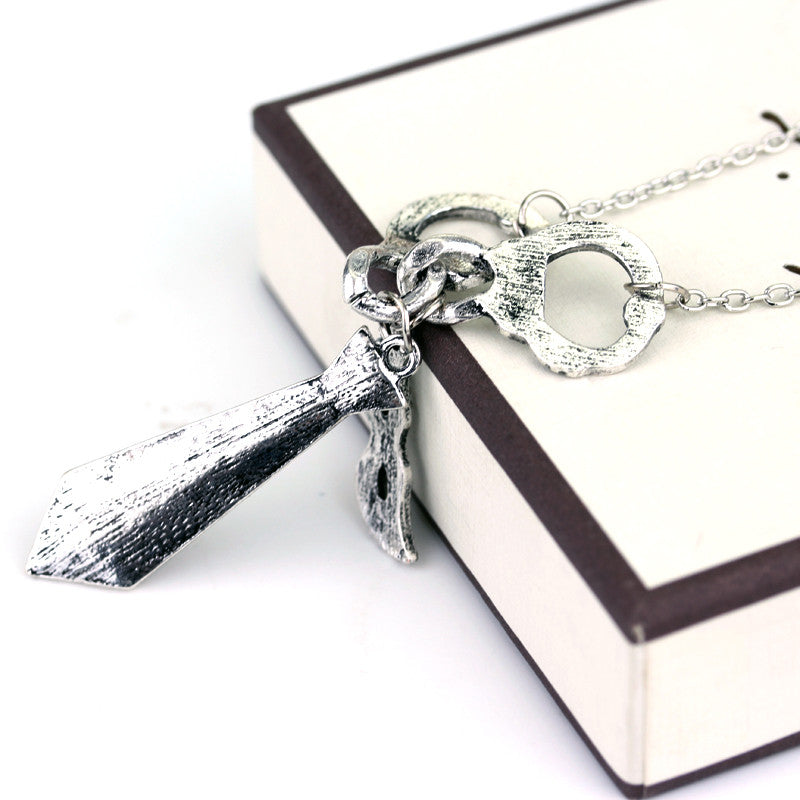 50 Shades of Grey Necklace