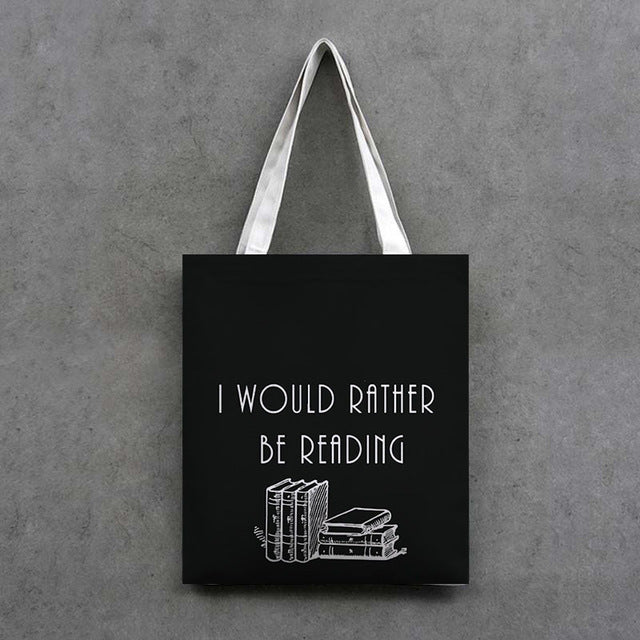 Read Read Read Handcrafted Tote Bags