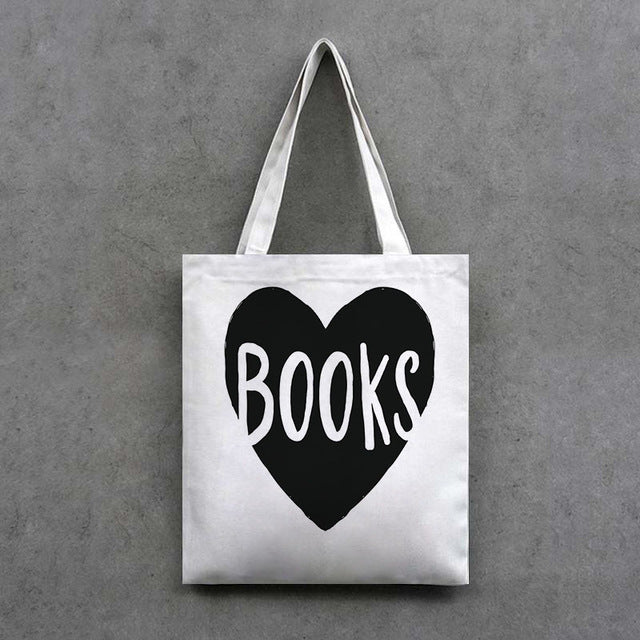 Love To Read Handcrafted Tote