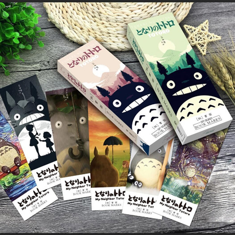 32 pcs/pack Totoro Bookmarks