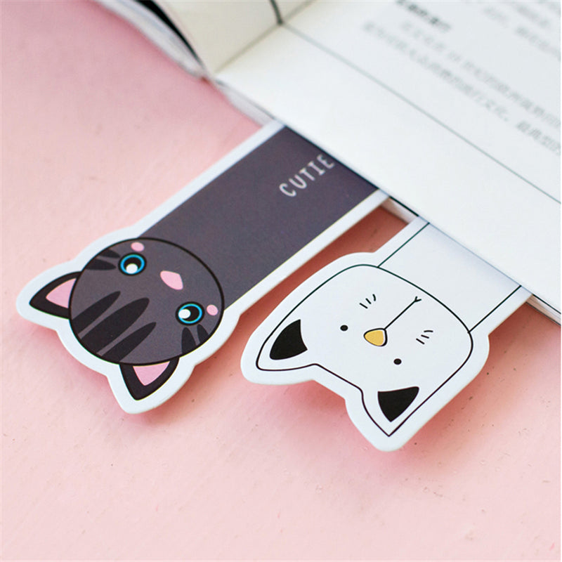 30 Pcs/Set Cute Cat Bookmarks
