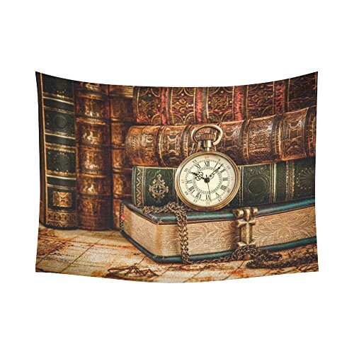 Antique Book Tapestry