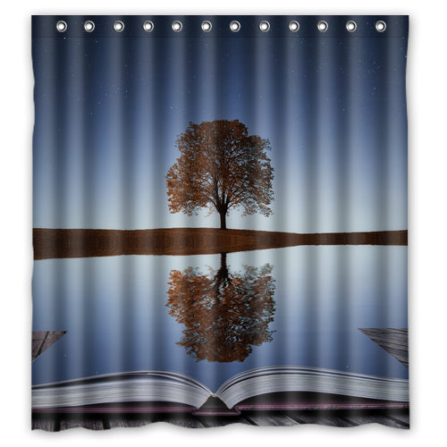 Relax & Read Shower Curtain