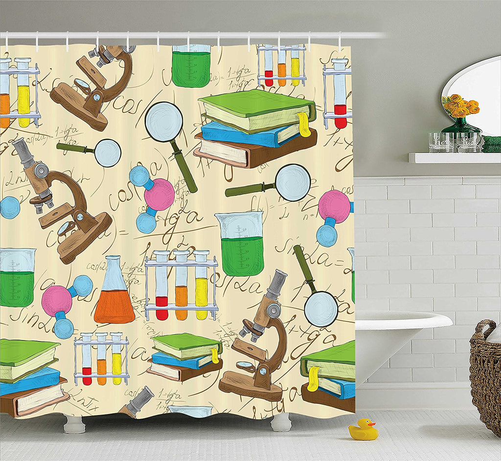 The Learning Shower Curtain