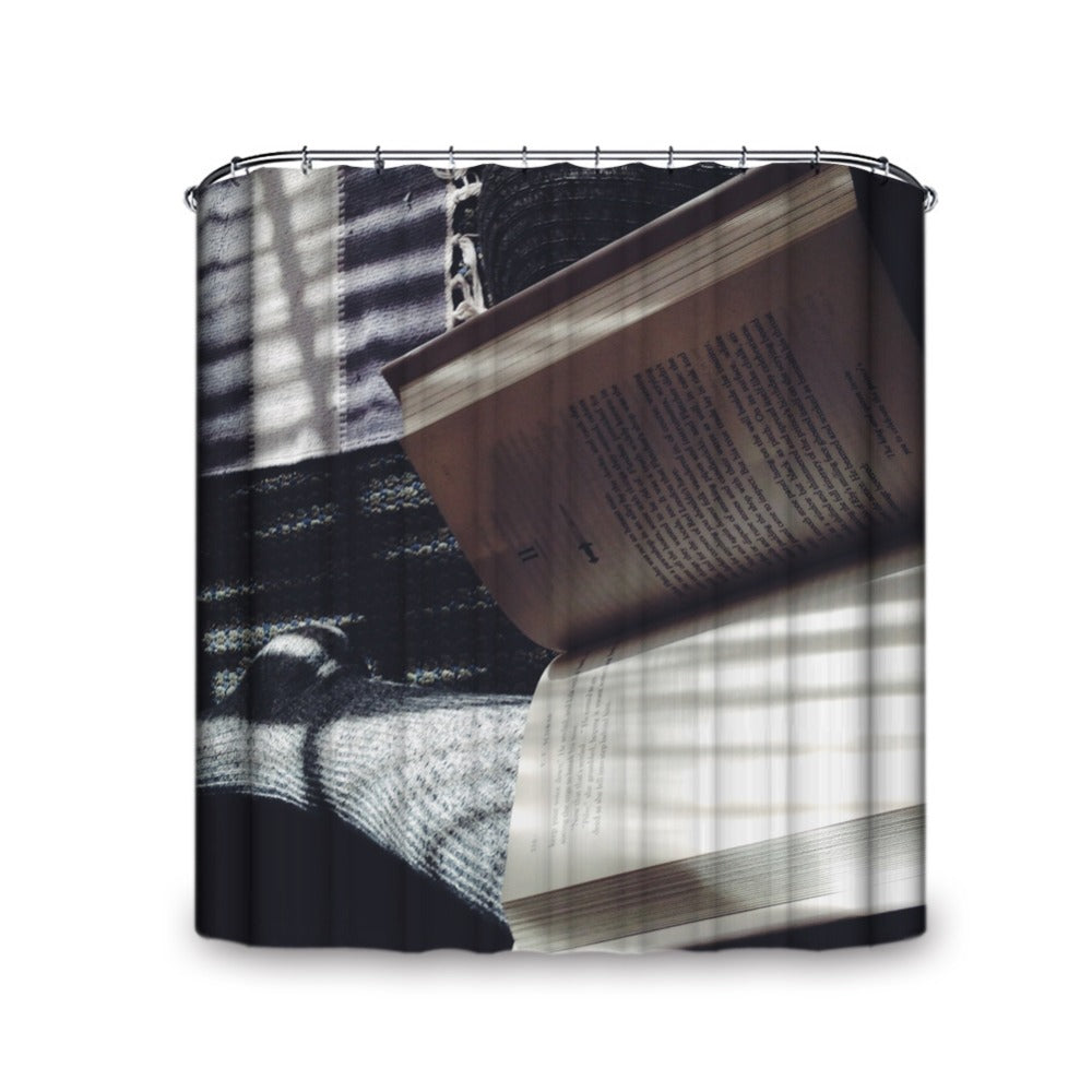 Pleasing Reads Shower Curtain
