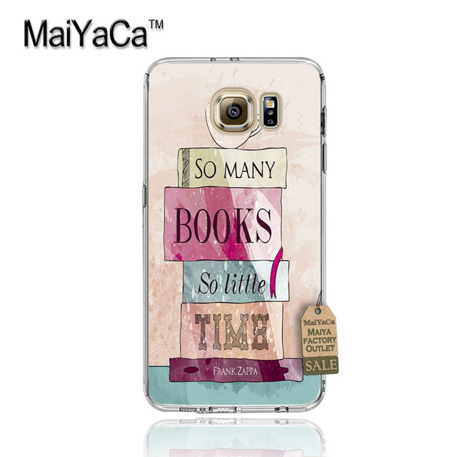 Books And Coffee  Phone Case  for Samsung