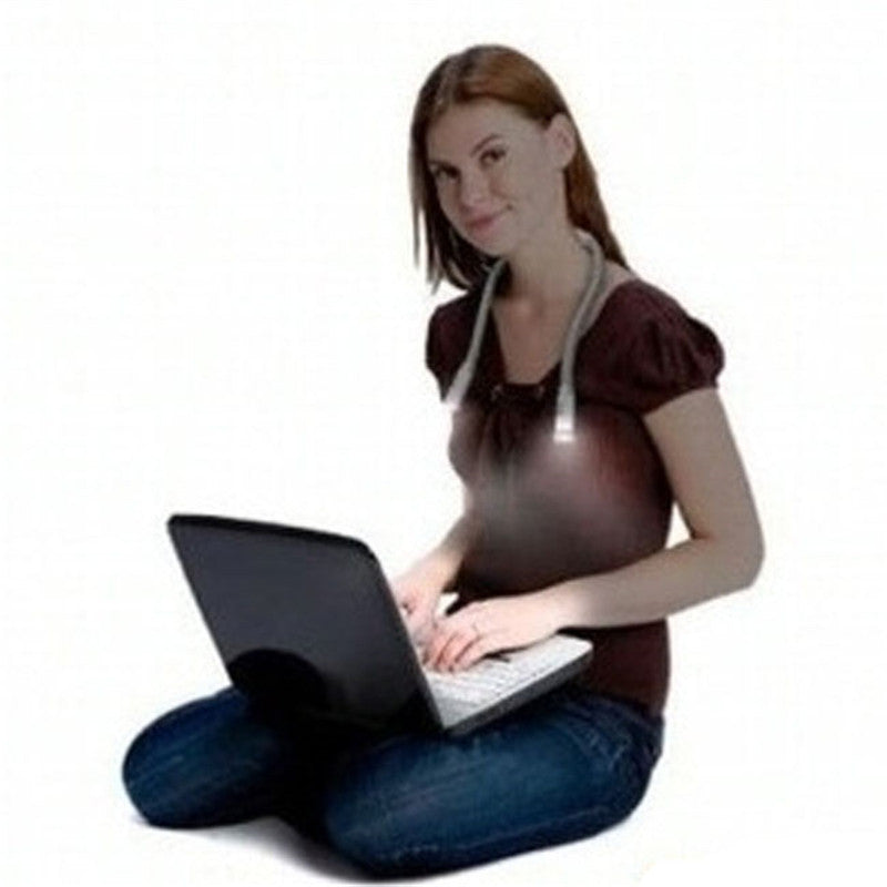 Handsfree Hug Neck Reading Book LED Light