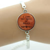I Love The Smell Of Books Hand Crafted Bracelet