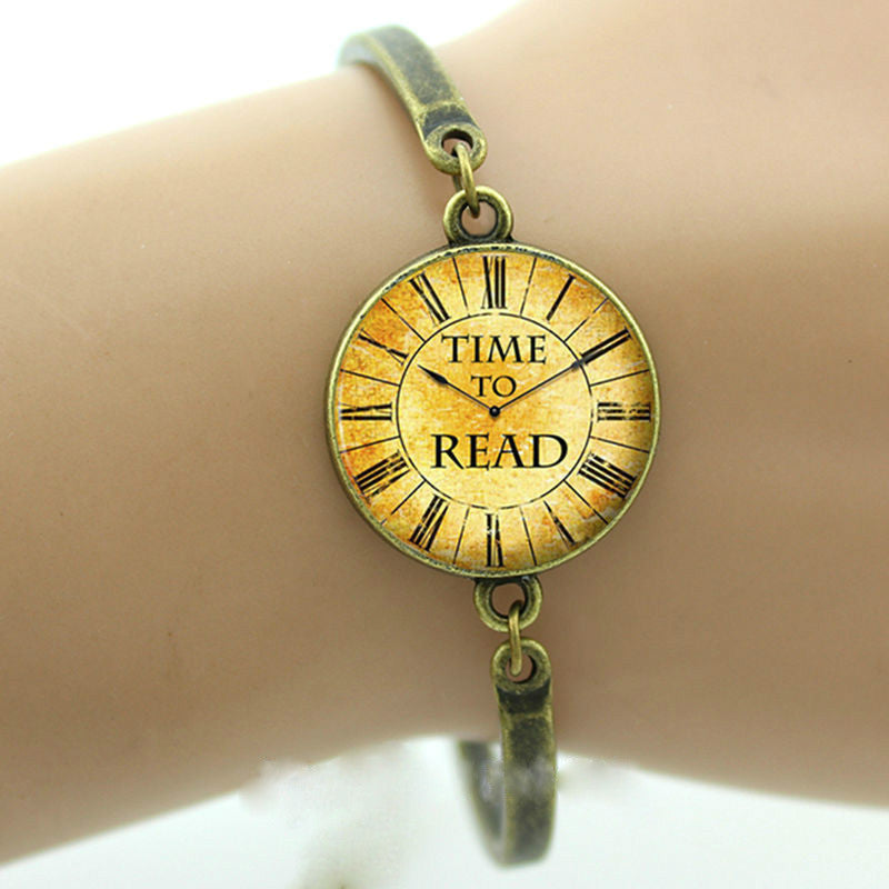 Time To Read Bracelet