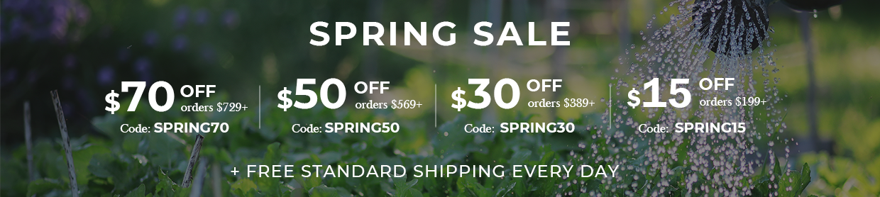 Nutshell Stores Spring Promo Codes Banner Image