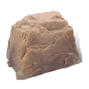 Large Faux Rock Model 104 in Autumn Bluff color