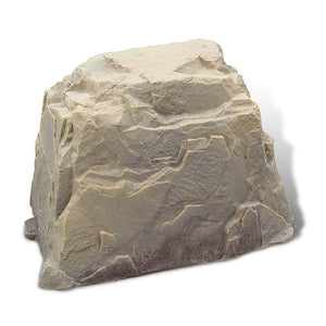 Large Faux Rock Model 104 in Sandstone color
