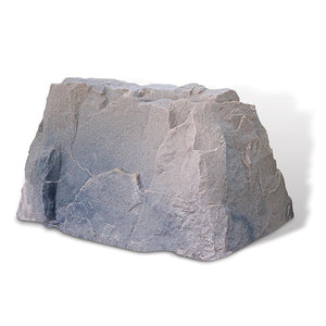 Rectangular Faux Rock Model 110 in Riverbed color