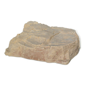 Large Low Profile Faux Rock Model 112 in Sandstone color