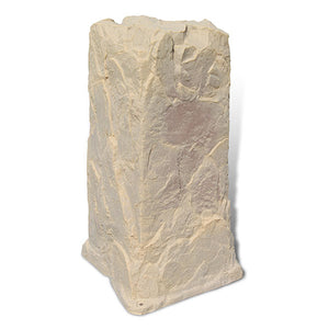 Pedestal Faux Rock Model 113 in Sandstone color