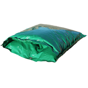 "DekoRRa Insulated Pouch 607 16"" L x 21"" H on its side in Green color"