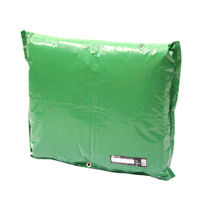 "DekoRRa Insulated Pouch 610 34"" L x 24"" H in Green color"