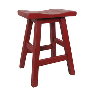 Swivel Saddle Seat Bar Stool