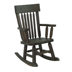 Child's Amish Barnwood Rocker