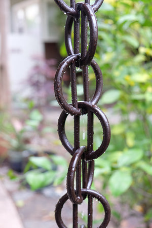 Cast Zen Loops Rain Chain