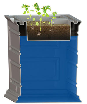 Savannah Eco Elevated Garden Rain Saver - 100% Recycled Material