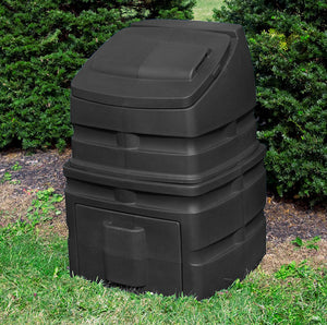 Compost Wizard Standing Bin in yard