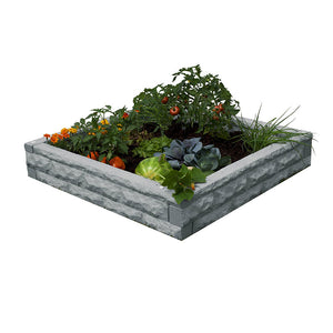 Garden Wizard Raised Bed Garden Light Granite