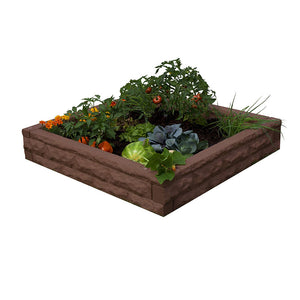 Garden Wizard Raised Bed Garden Red