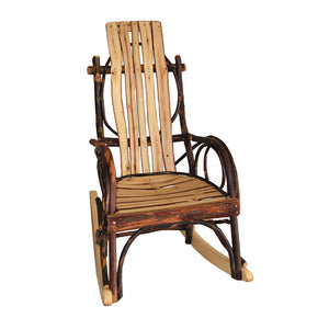 Child's Amish Bentwood Rocker - All Hickory