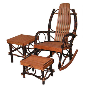 Hickory and Oak Rocker Set